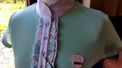 New!! Fair Play Megan Competition Shirt In Mint