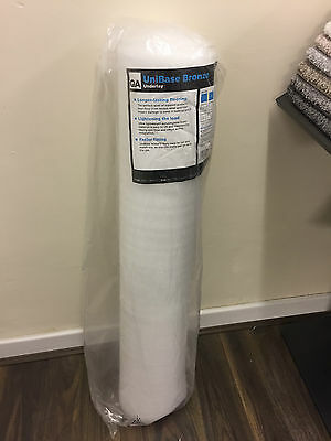 2mm WHITE FOAM UNDERLAY FOR LAMINATE AND ENGINEERED WOOD -CHOOSE 1 - 6 ROLLS