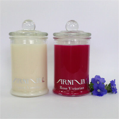 HIGHLY SCENTED 100% NATURAL SOY WAX CANDLE 30 hr burn time CHOOSE FROM 58 SCENTS