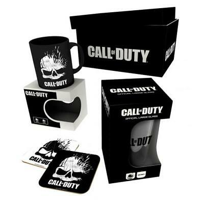 Call Of Duty Gift Set Mug Glass Coaster Fan Gift Fun Official Licensed Product