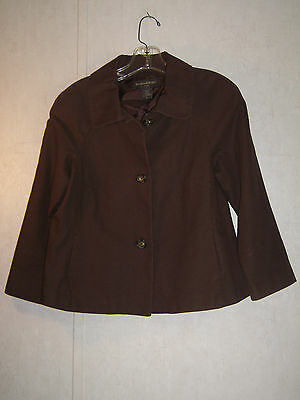 Women's Juniors Brown Size M Banana Republic Jacket Blazer