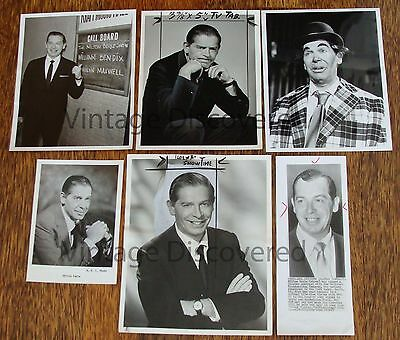 6 - Milton Berle 1950s/1960s Original Vintage Photographs~San Francisco Examiner