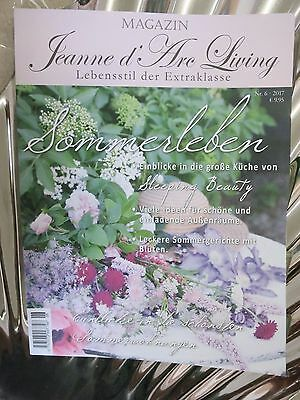 Jeanne d'Arc Living Revista Junio 2017 Folleto Verano directo Vintage Shabby