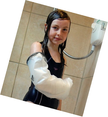 LimbO Child Full Arm Waterproof Cast Cover (Clothes Size 8-10 Yrs)