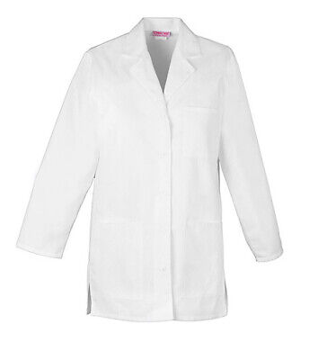 "Cherokee 1462 Women's 32"" Lab Coat Medical Uniforms Scrubs"