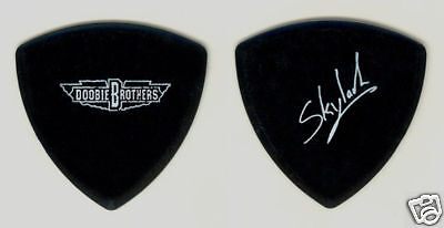 Doobie Brothers Skylark Signature Black Bass Guitar Pick - 2008 Tour