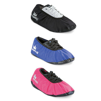 Brunswick Ick Shoe Shield Black,Blue or Pink, Cover Topcoat for Bowling Shoes