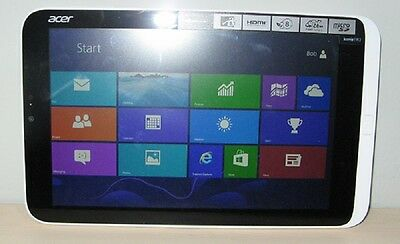 TABLET Acer Iconia W3-810-1461 OS Window 8 32-bit Intel Atom Z2760 Touch Screen