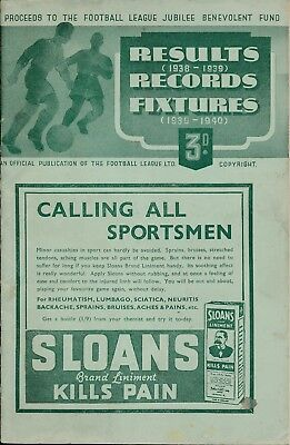 Tottenham v Arsenal (Football League Jubilee Friendly) 1939