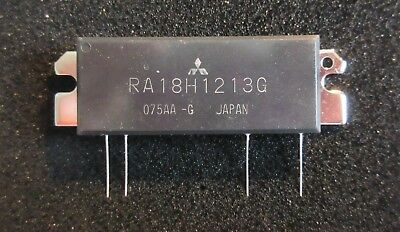 Mitsubishi RA18H1213G 18 Watt RF MosFET amplifier module for 1.24 to 1.30GHz