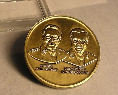 Salvation Army - BRASS PAPERWEIGHT  75TH ANNIVERSARY SOUTHERN TERRITORY