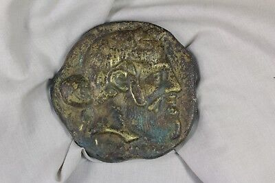 Medalla Busto Griego. S.XX Greek Bust Medal