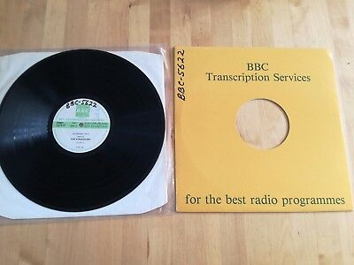The Stranglers BBC Transcription Disc #276 Hammersmith Concert '83 Ultra Rare LP
