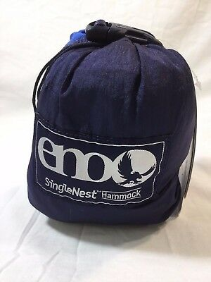 Eagles Nest ENO SingleNest Hammock - Navy/Royal *Brand New*
