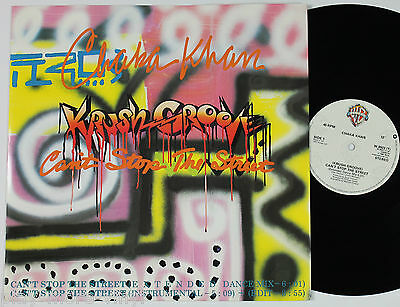 "CHAKA KHAN (Krush Groove) Can't Stop The Street 12"" vinyl UK 1985  plays NM!"
