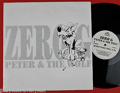"ZERO G  Peter & The Wolf 12"" UK 1991 Hullabaloo 12WOLF1  plays NrMINT!"