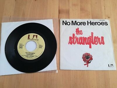 The Stranglers No More Heroes French Ultra Rare 7""
