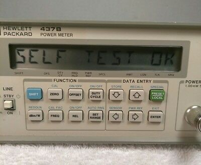 HP Agilent Keysight 437B Power Meter Excellent Used Condition