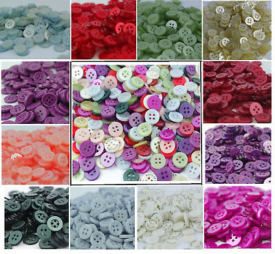 Assorted Box Of Buttons 300g Mixed Pack For Sewing Card Making