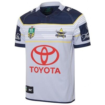 North Queensland Cowboys 2017 NRL Away Jersey Adult & Kids Sizes!
