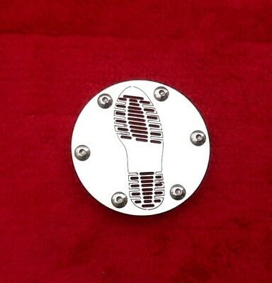 LAMBRETTA Stainless Steel 80mm Carburettor Inlet Air Plate.  Doc Soul Print