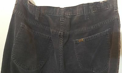 Vintage corduroy Lee Riders jeans size 38 x 36 Union Made in Canada