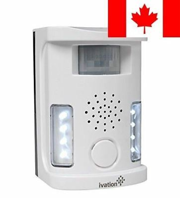 Ivation Electronic Motion-Activated Outdoor & Indoor Animal and Pest Repeller...