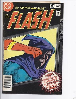 Canadian Newsstand Edition $0.75 Price Variant Flash #318