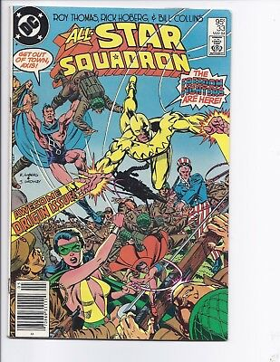Canadian Newsstand Edition $0.95 Price Variant All-Star Squadron #33