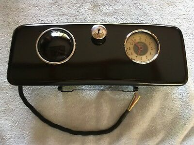 1935-37 Chevrolet Car 1936-38 Truck Glove Box Door With Clock, Ash Tray, Lock