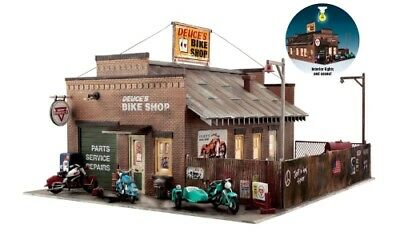 Woodland Scenics [WOO] O Built-Up Deuce's Cycle Shop BR5846 WOOBR5846