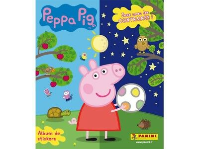 STICKER Album PANINI Peppa Pig Around the World SET COMPLETO Figurine Inglese