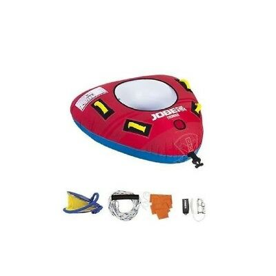 JOBE Thunder Pack Bouee tractee - 1 personne - Rouge