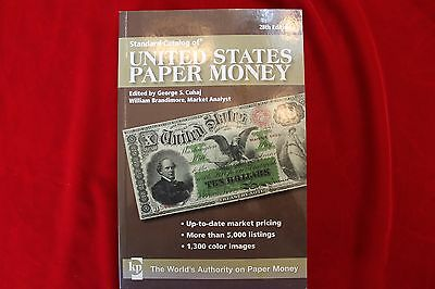 28'th EDITION CATALOG OF UNITED STATES PAPER MONEY, FULL COLOR, 432 PAGES, NEW
