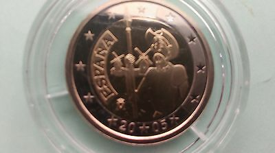 Espagne 2005 Piece 2 Euros Don Quichotte Be 3000 Expl