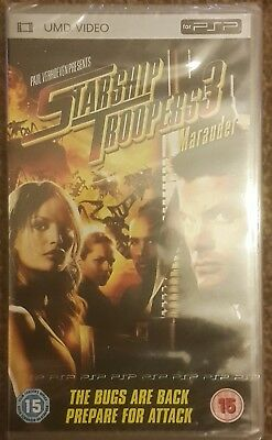 Starship troopers 3 umd film for psp new and sealed