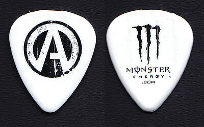 Atreyu Travis Miguel Concert-Used White Tour Guitar Pick