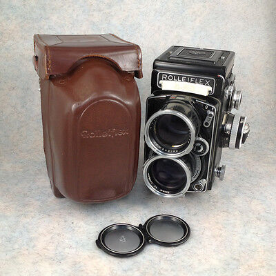Rolleiflex Tele with Functional Meter CLA'd Sonnar 135mm f/4 135/4