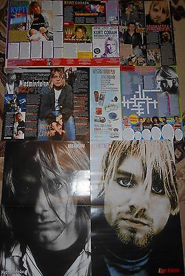 Nirvana Kurt Cobain - Magazine Posters Clippings  Collection