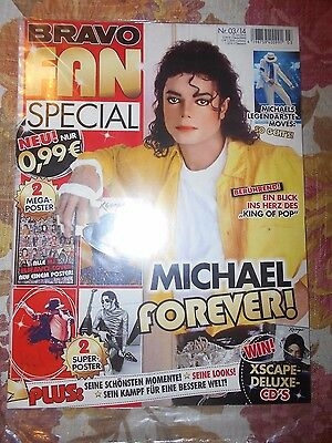 MICHAEL JACKSON  - BRAVO Magazine Special Edition with Posters
