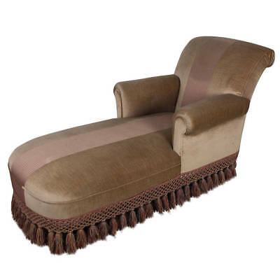 Handsome French 1940's Chaise Lounge