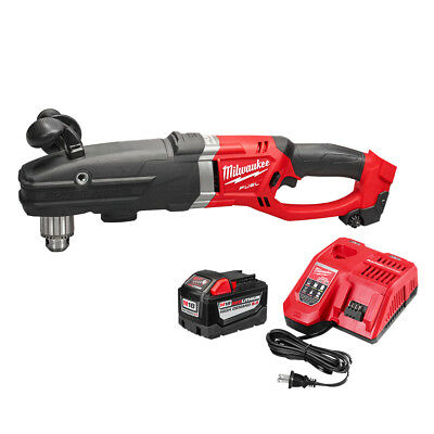 Milwaukee 2709-22HD 18-Volt 1/2-Inch M18 FUEL Super Hawg Right Angle Drill Kit