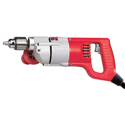 Milwaukee 1101-1 120V AC 1/2 D-Handle Drill 500 RPM w/ Chuck Key