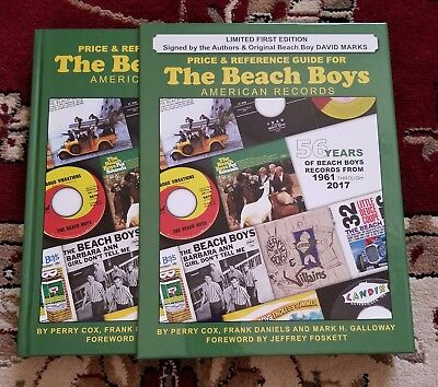 Beach Boys HERE IT FINALLY IS! THE ALL NEW BEACH BOYS PRICE GUIDE LTD #d ED.