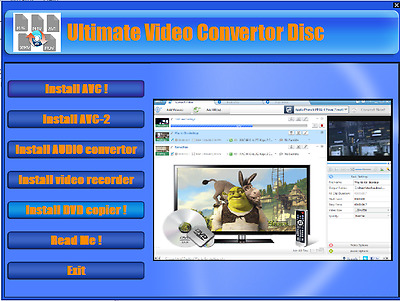 The ultimate Video Converter  :Convert ANY video/ audio files & burn to disc !!