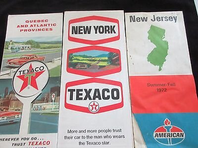 Vintage Road Gas Station Maps