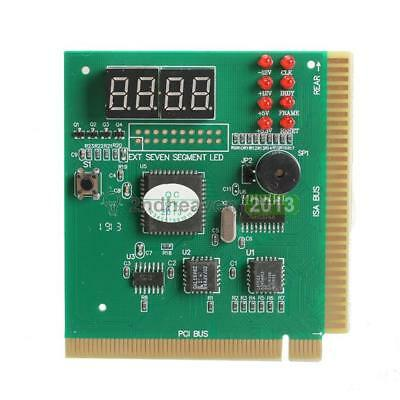 New 4-Digit LCD Display PC Analyzer Diagnostic Card Motherboard Post Tester BEST