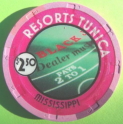 Resorts Casino In Tunica, Mississippi ~ $2.50 Chip