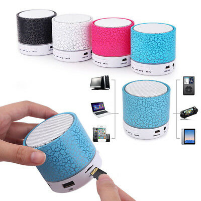 LED Wireless Bluetooth MP3 Music Player Speaker TF USB Music Sound Subwoofer