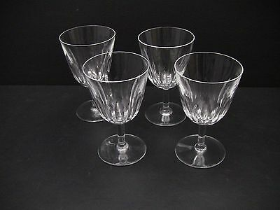 Baccarat LORRAINE Water Glasses / Set of 4